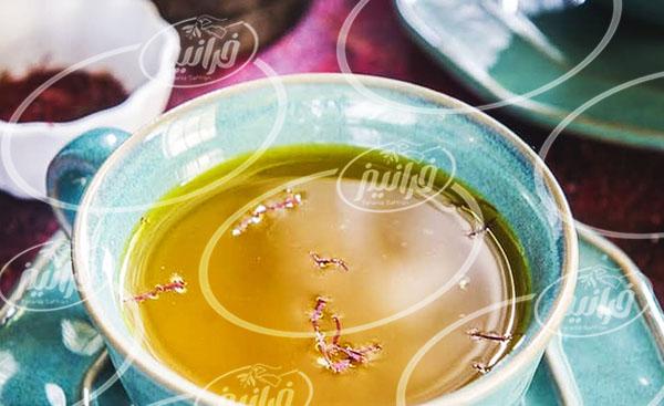 تحویل فوری چای زعفرانی مشهد درجه یک