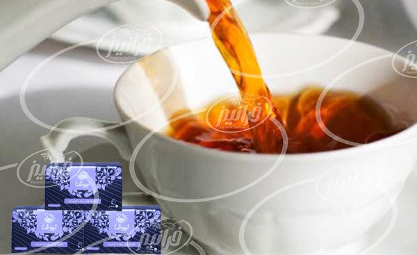 خرید عمده چای زعفران نیوشا کیسه ای