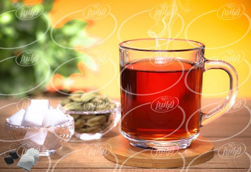 فروش بهترین چای زعفرانی بهرامن صادراتی