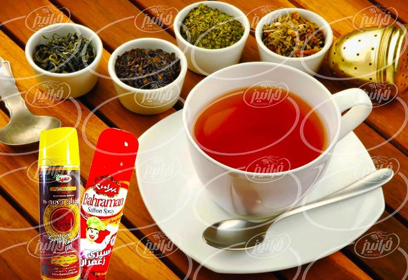 بازار عمده فروشی اسپری زعفرانی در چابهار