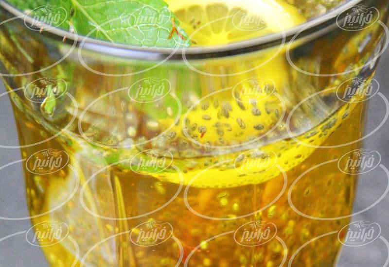 فروش شربت گلاب زعفران خوش طعم و عطر