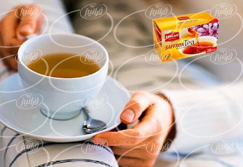بهترین چای زعفران ادمان صادراتی مرغوب