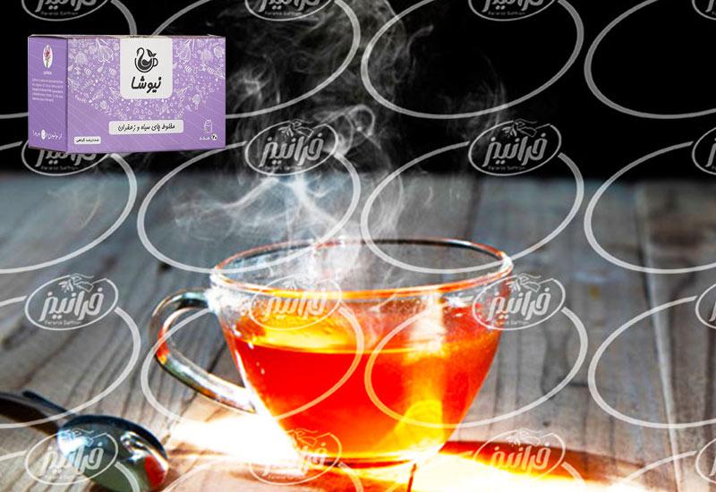 نمایندگی دمنوش چای زعفران نیوشا اصلی