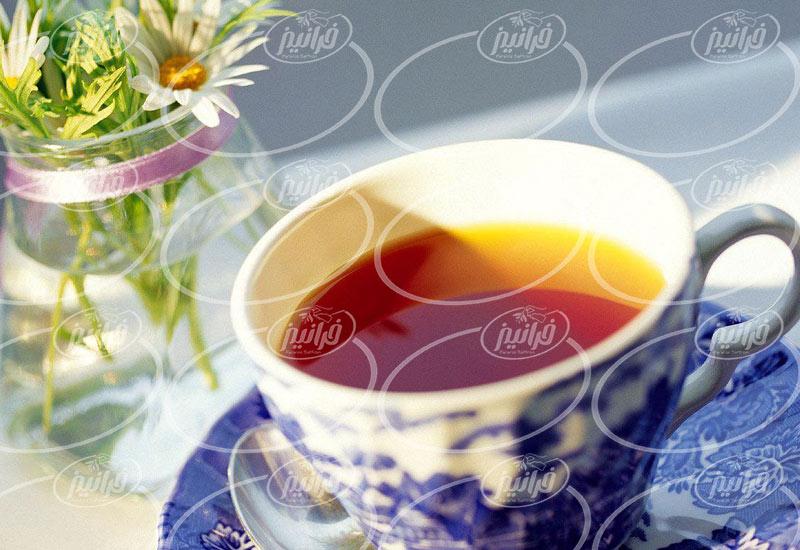 سایت معتبر چای زعفران قاشقی درجه یک
