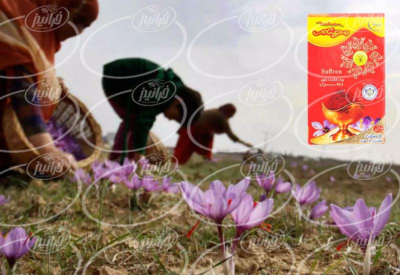 جدیدترین بسته بندی پودر زعفران مهنام