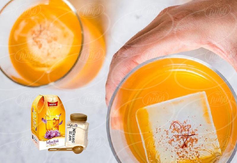 معاملات عمده نوشیدنی زعفران نفیس در کشور