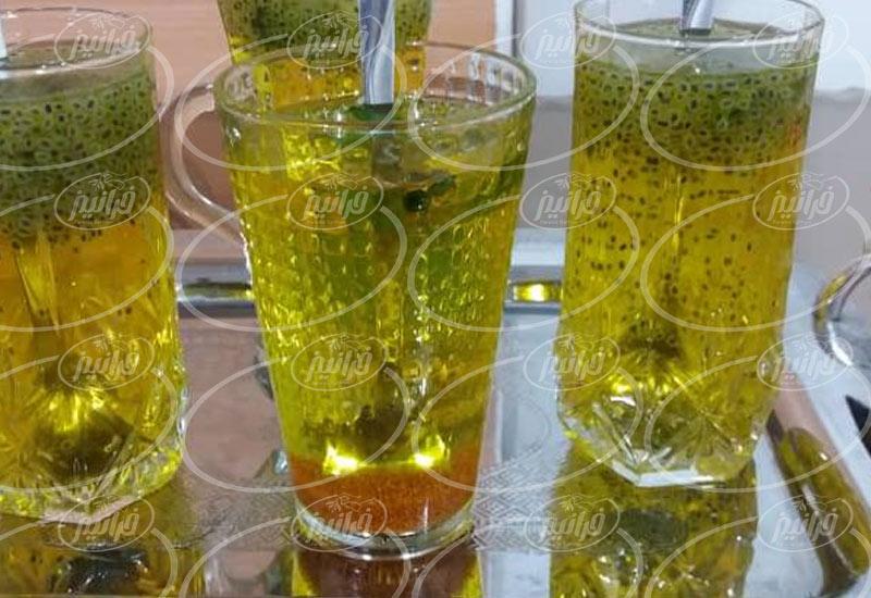 مرکز خرید شربت گلاب زعفران در پایتخت