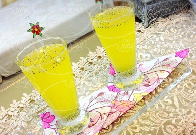 فروش شربت زعفران به متقاضیان خارجی
