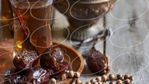 چای زعفران قاشقی در بازار داخلی