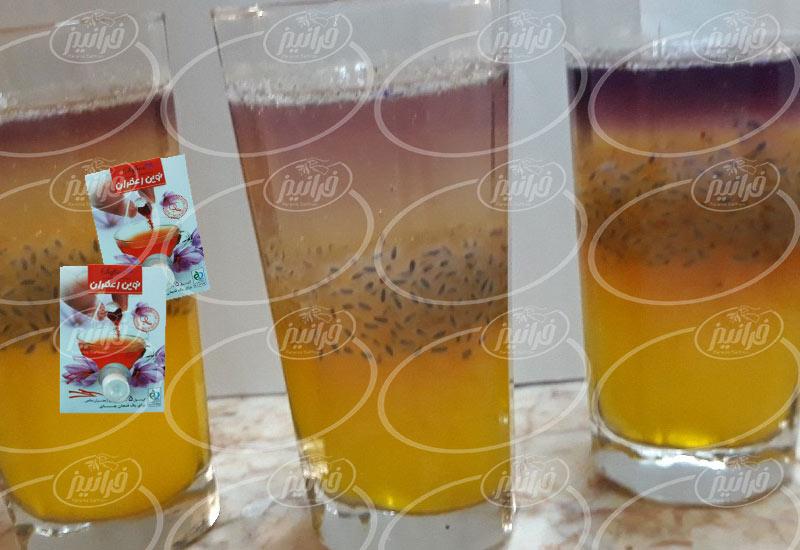 عرضه مستقیم پودر نوشیدنی نوین زعفران مجاز